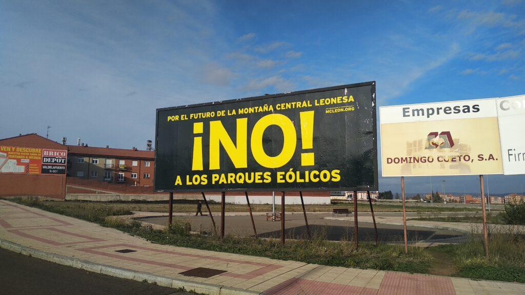 Valla No a los Parques Eólicos